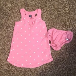 BabyGap Tank Dress with diaper cover (2 years)
